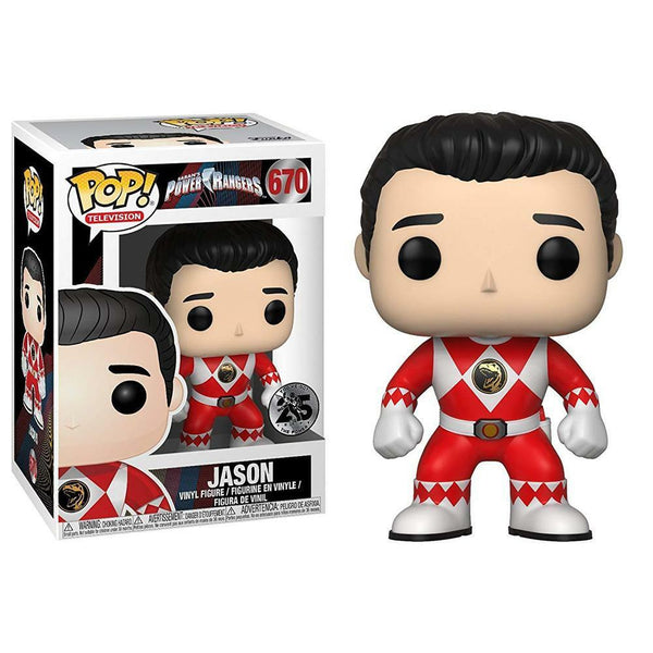 Power Rangers Jason Pop Vinyl Figure - Kryptonite Character Store