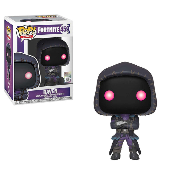 Fortnite S2 - Raven Pop Games Vinyl Figure - Kryptonite Character Store