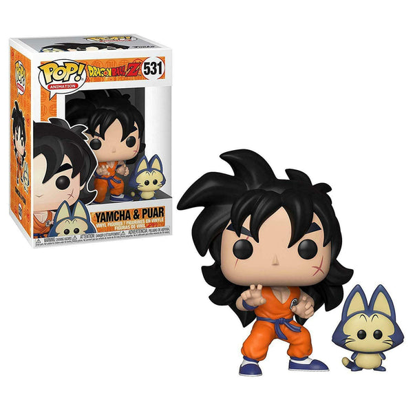 Dragon Ball Z - Yamcha & Puar Pop Animation Vinyl Figure - Kryptonite Character Store