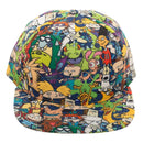 Nickelodeon Rewind Character Collage Hat - Kryptonite Character Store