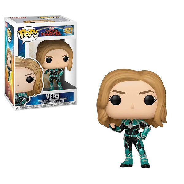 Marvel: Captain Marvel - Vers - unmasked Pop Vinyl Figure - Kryptonite Character Store
