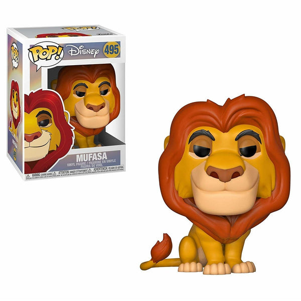 Disney Lion King - Mufasa Pop Vinyl Figure - Kryptonite Character Store