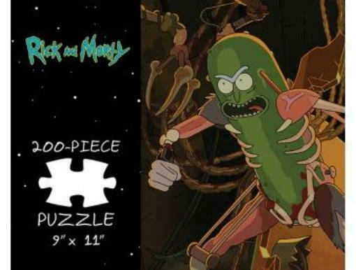 Puzzle Rick and Morty - Pickle Rick Box SW