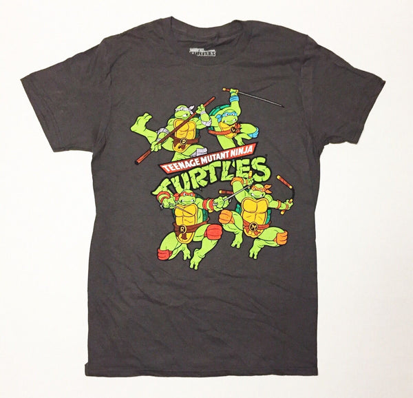 Teenage Mutant Ninja Jumping Turtles T-Shirt - Kryptonite Character Store