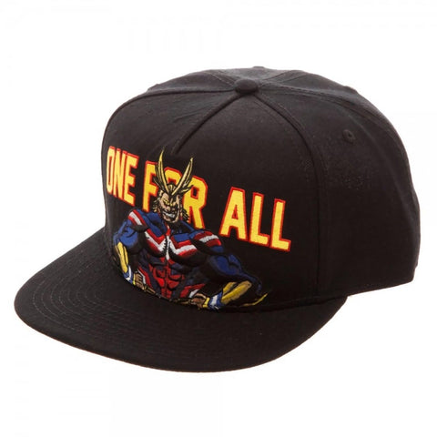 004be31e948f0 My Hero Academia One For All Snapback - Kryptonite Character Store
