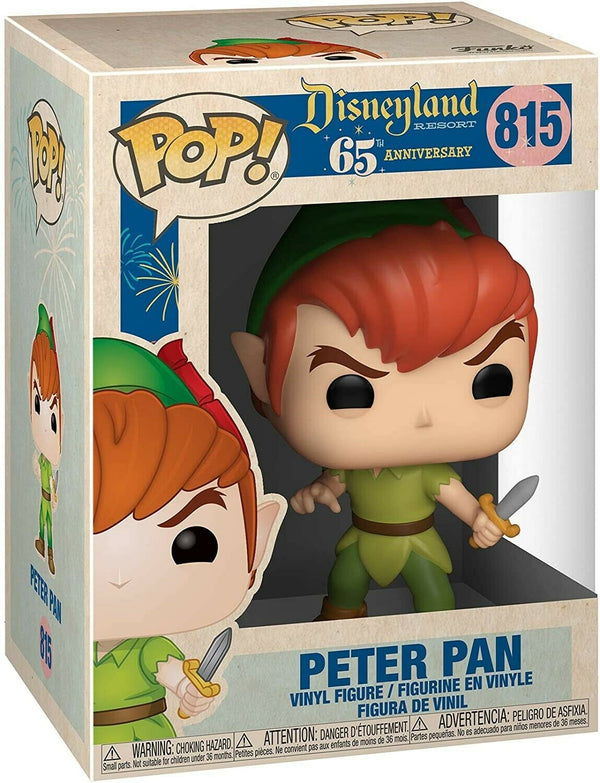 Funko - POP Disney: Disney 65th - Peter Pan (NewPose)