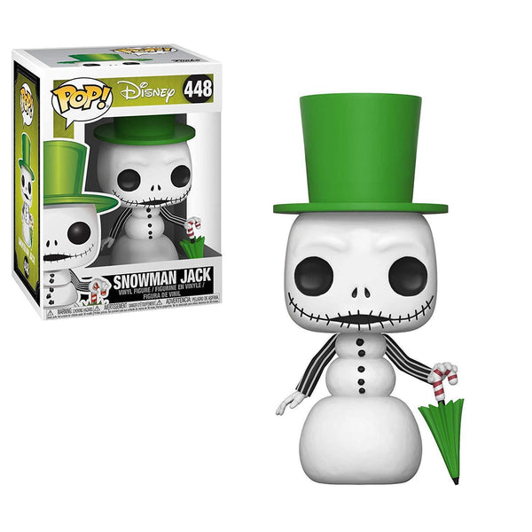 Disney Nightmare Before Christmas Snowman Jack Pop Vinyl Figure - Kryptonite Character Store