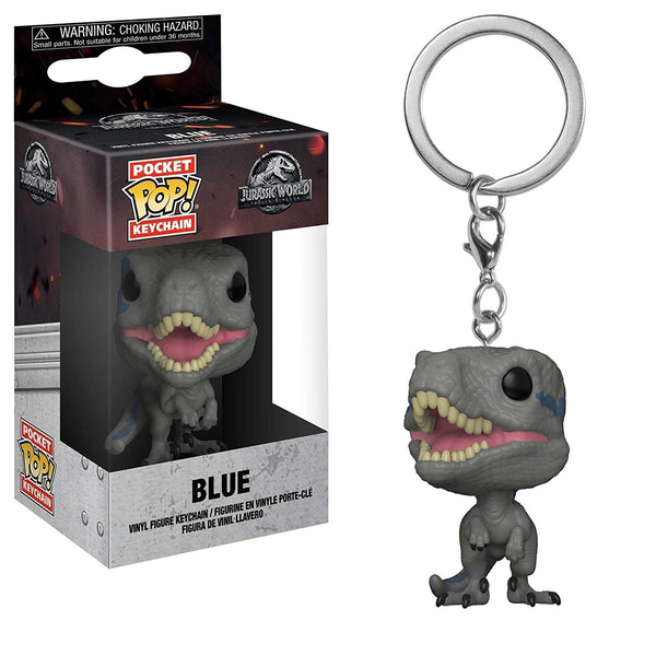Jurassic World Blue Mini Funko Pop Keychain - Kryptonite Character Store