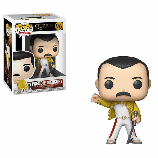 Queen - Freddy Mercury (Wembley 1986) POP Rocks Vinyl Figure - Kryptonite Character Store