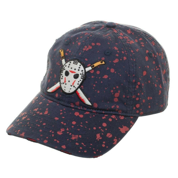 Friday The 13th - Blood Splatter Jason Vorhees Hat