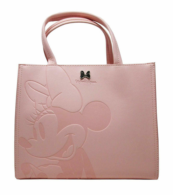 Disney Minnie Mouse Debossed Pink Bag