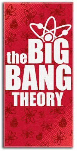 The Big Bang Theory Fiber Beach Towel- Kryptonite Character Store