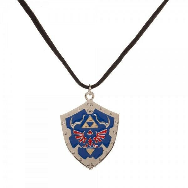 The Legend of Zelda Shield Logo Necklace - Kryptonite Character Store