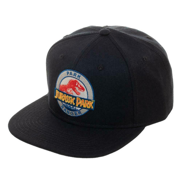 Jurassic Park Ranger Adjustable Snapback Black