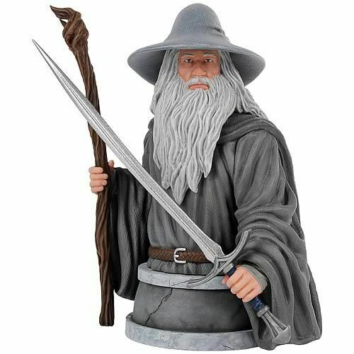 The Hobbit - Gandalf The Grey Mini-Bust