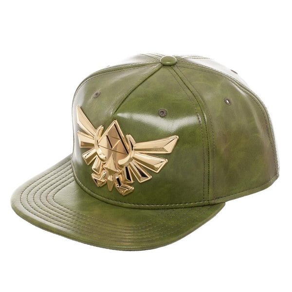 The Legend of Zelda PU Leather Snapback Hat - Kryptonite Character Store