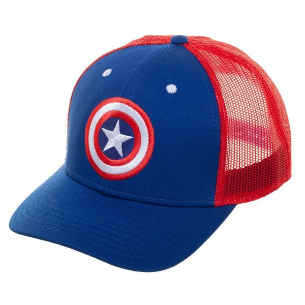 Marvel Comics Captain Marvel Mesh Trucker Hat