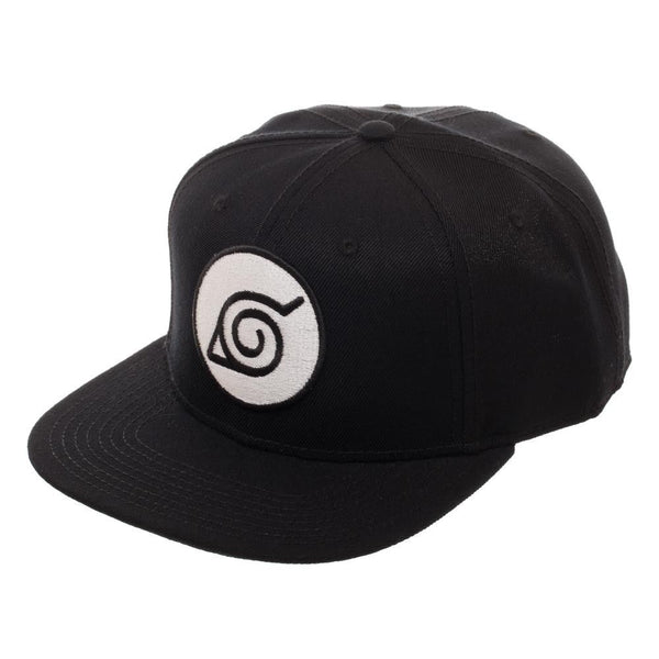 Naruto Black Leaf Snapback Hat