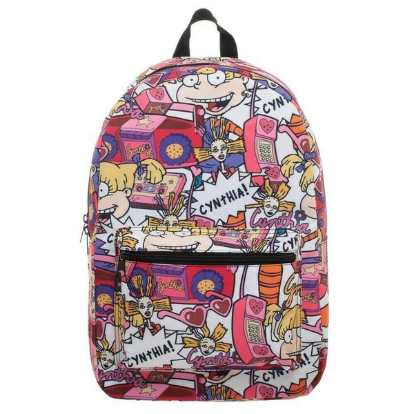 Nickelodeon Rugrats Backpack Angelica Cynthia All Over Print Bag