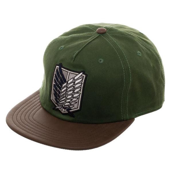 Attack on Titan Waxed Canvas Snapback Cap