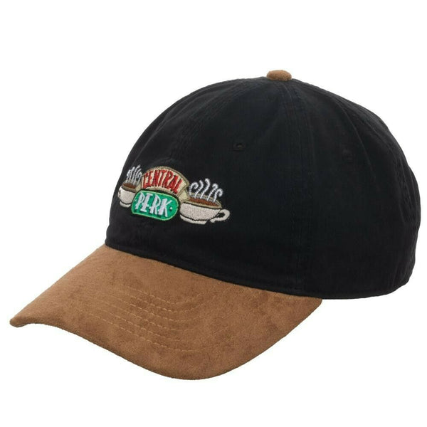 Friends Central Perk Coffee Adjustable Suede Curved Bill Dad Hat