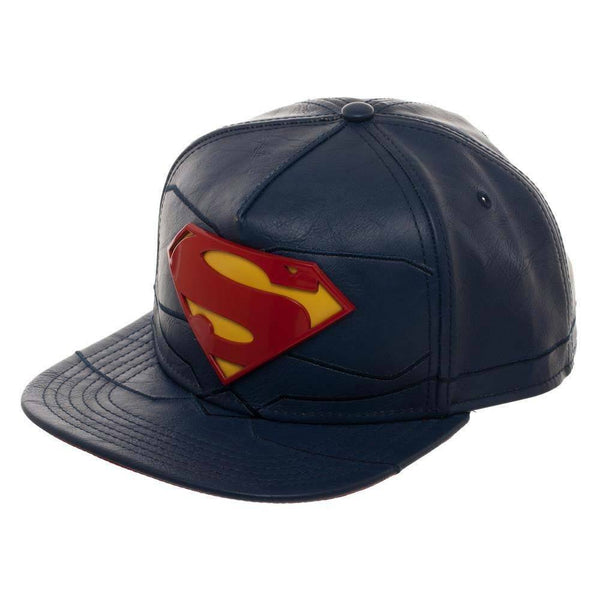 Superman Rebirth Vinyl Men's Blue Hat - Kryptonite Character Store