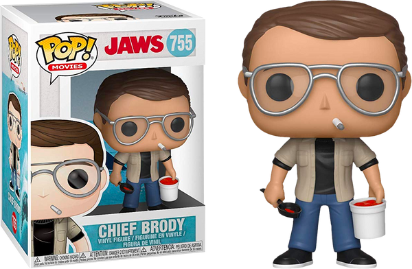 Jaws - Chief Brody POP Movies Vinyl Figure - Kryptonite Character Store