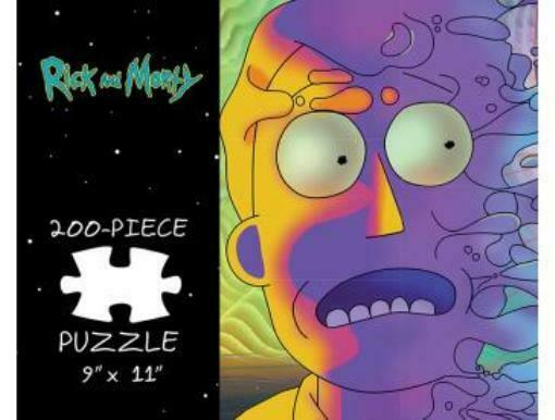 Rick and Morty Puzzle Psychedelic Jerry