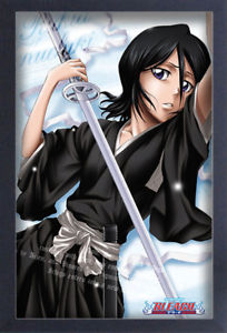 Bleach Rukia Pose Framed Poster - Kryptonite Character Store