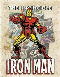 Iron Man Comics Metal Sign - Kryptonite Character Store