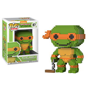 Teenage Mutant Ninja Turtles Michelangelo 8bit Pop Figure - Kryptonite Character Store
