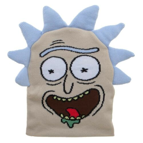 ADULT SWIM RICK AND MORTY BIG FACE RICK BEANIE