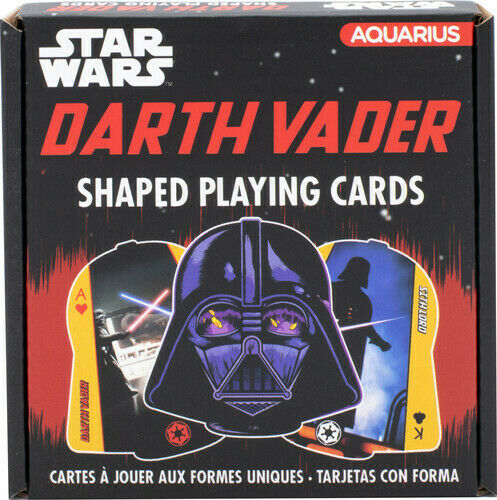 Star Wars Darth Vader Shaped Playing Cards Deck  Card Game
