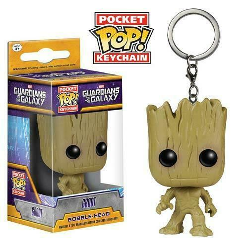 Funko Pop Keychain Guardians of the Galaxy - Groot Keychain