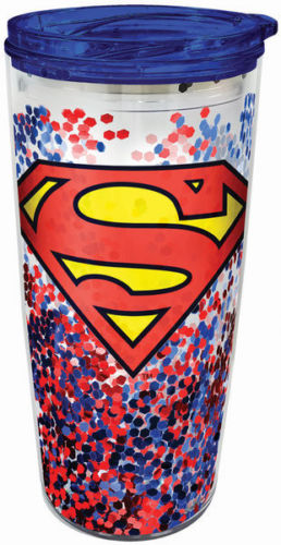 Superman Acrylic 18oz. Travel Mug - Kryptonite Character Store