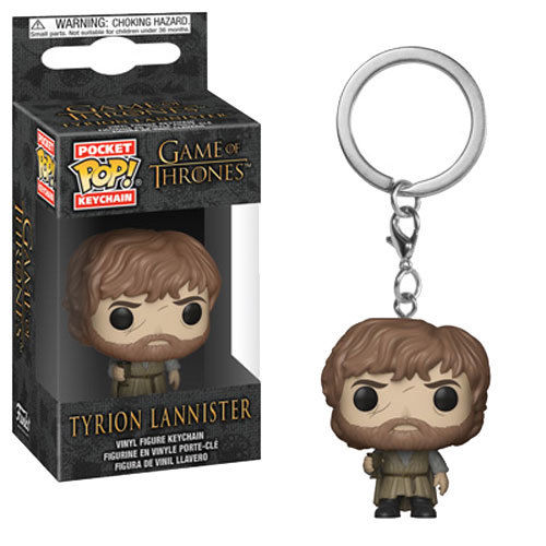 Game of Thrones Tyrion Lannister Mini Funko Pop Keychain - Kryptonite Character Store