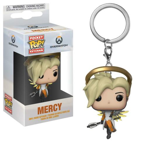 Overwatch Mercy Mini Funko Pop Keychain - Kryptonite Character Store