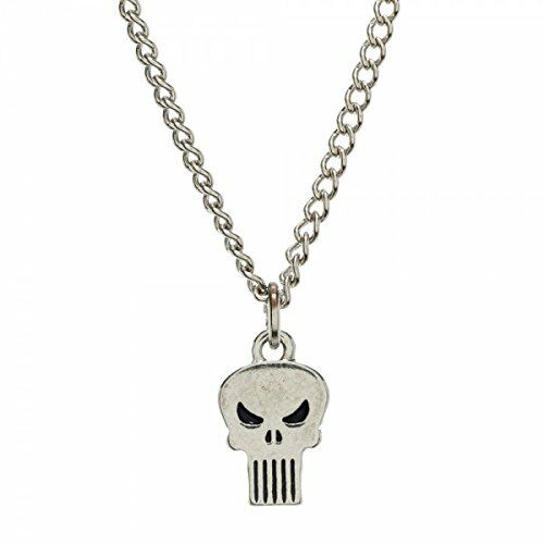 Marvel: The Punisher Skull Logo Necklace w/ Chain