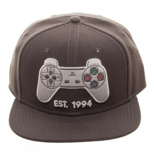 Classic Playstation Controller Snapback Hat - Kryptonite Character Store