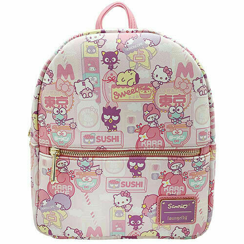 Sanrio Hello Kitty KAWAII All Over Print Mini Backpack