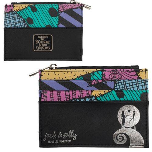 Nightmare Before Christmas Printed ID Zip Wallet- Kryptonite Character Store