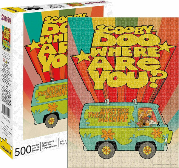 Scooby-Doo Where Are You? 500 Piece Jigsaw Puzzle - Kryptonite Character Store