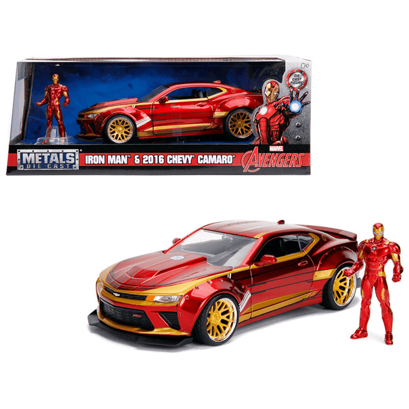Iron Man 2016 Chevy Camero Model Car