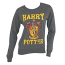 Junior Crew New Team Harry Potter Long Sleeve Pullover Charcoal Gray