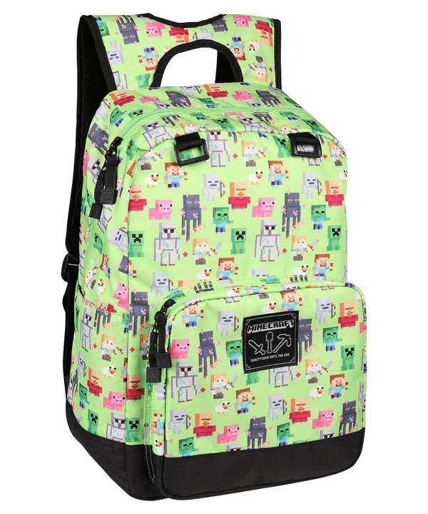 MINECRAFT QUALITY GEAR UNTIL THE END OVERWORLD SPRITES BACKPACK