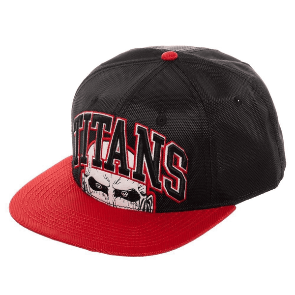Attack on Titan TITANS Name Snapback Hat