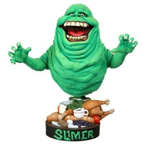 Ghostbusters Slimer - Headknocker Bobble Head Figure - Kryptonite Character Store