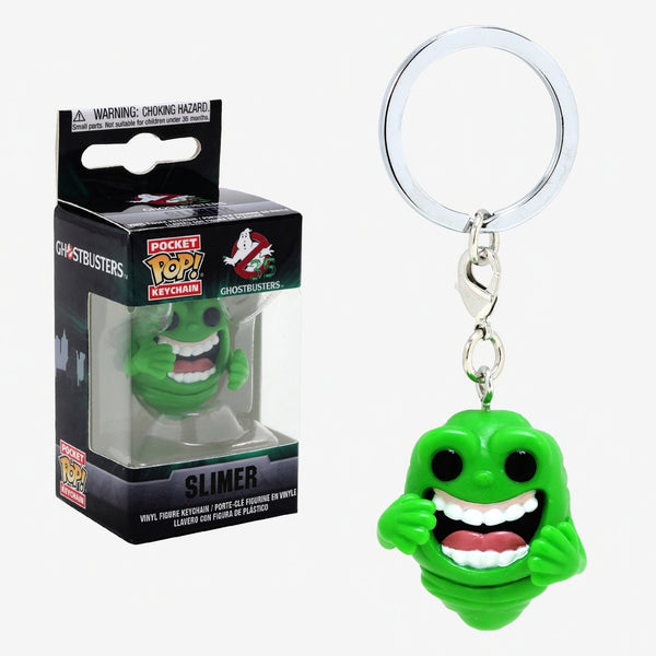 Ghostbusters - Slimer POP Movies Keychain