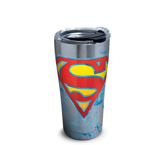 DC: Superman 20 oz. Stainless Steel Tervis Tumbler- Kryptonite Character Store