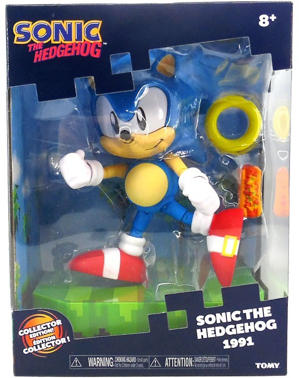 Sonic The Hedgehog Classic Sonic Collector 5 5 Inch Figure Kryptonite Character Store